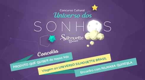 Aniversário Silhouette Brasil - PAP's, DIY e Shapes Grátis - Concurso Cultural Universo dos Sonhos Silhouette Brasil