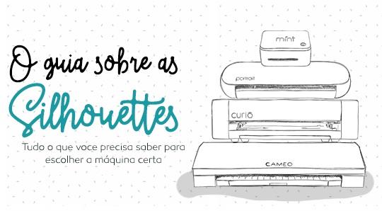 Aniversário Silhouette Brasil - PAP's, DIY e Shapes Grátis - Post Diferenças entre as Silhouettes