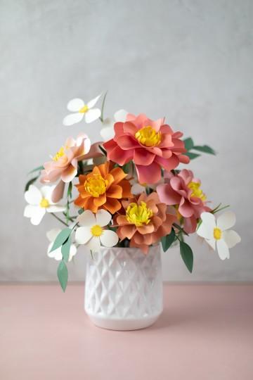 Flores Feitos com a Cameo 4