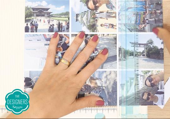 Como Fazer Varal de Fotos - PAP com Dicas e Ferramentas - Corte as Fotos na Base de Vinco e Corte com Trimmer We R