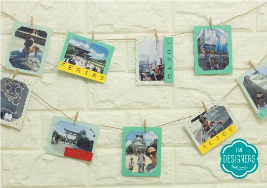 Como Fazer Varal de Fotos - PAP com Dicas e Ferramentas - Varal de Fotos Pronto e Pendurado na Parede