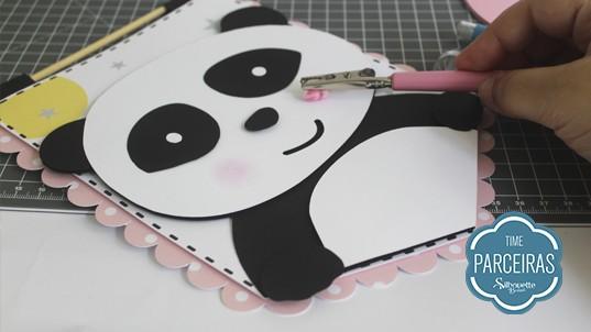Fazendo bochecha rosada com Chalk