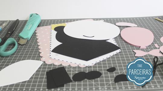 Materiais da Flâmula Panda para Chá Revelação