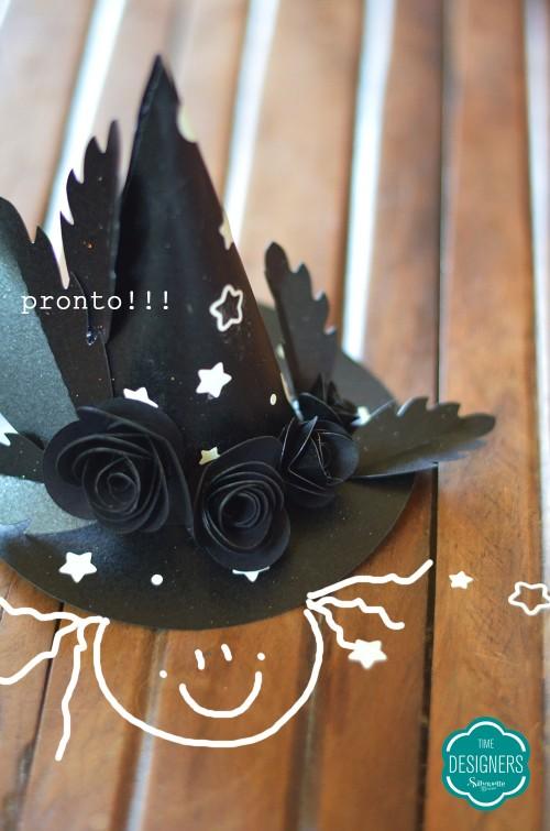 Como fazer chapéu de bruxa para o Halloween