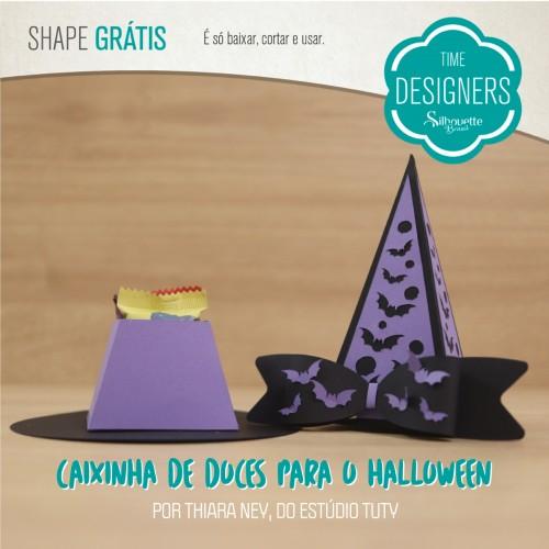 DIY Caixinha de Doces para Halloween
