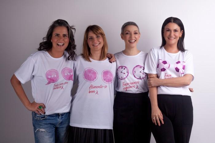 """Grupo """"As Perennials"""" participa do Outubro Rosa do Mário Penna"""