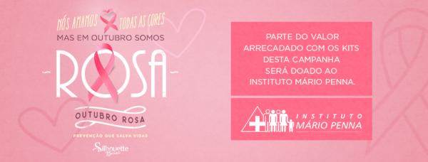 Silhouette Brasil e Instituto Mário Penna juntos no Outubro Rosa