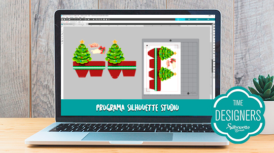 Caixas para Biscoitos e Panetones de Natal - PAP com Shape Grátis