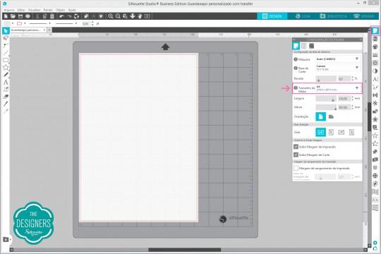 Configuração do Silhouette Studio