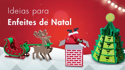 Caixas para Biscoitos e Panetones de Natal - Mais de 20 ideias Para Enfeites de Natal