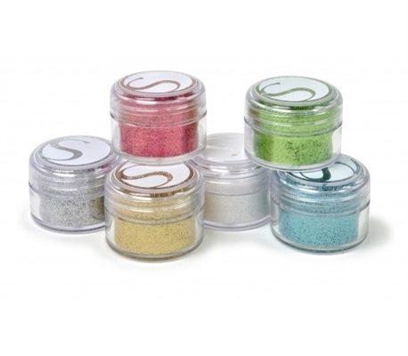Glitters Cores Sortidas - Silhouette - 6 Unids.