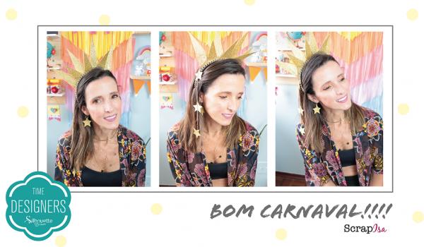 Tiaras para Carnaval em EVA Pronta