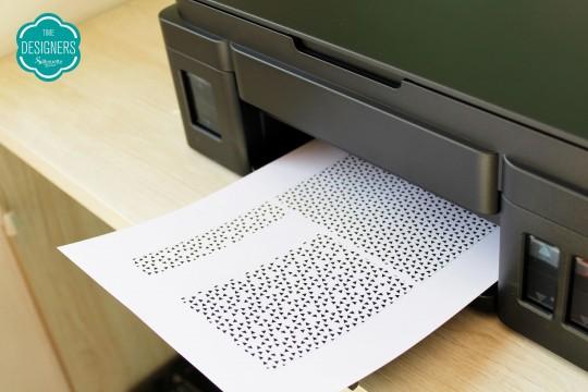 Impressão a jato de tinta
