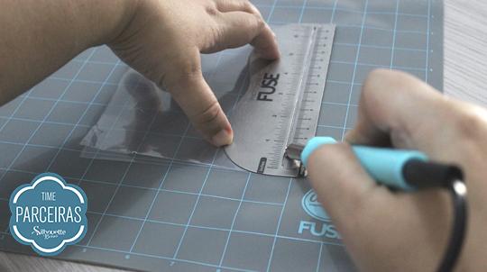 Cortando Plástico da Fuse para Fazer o shaker