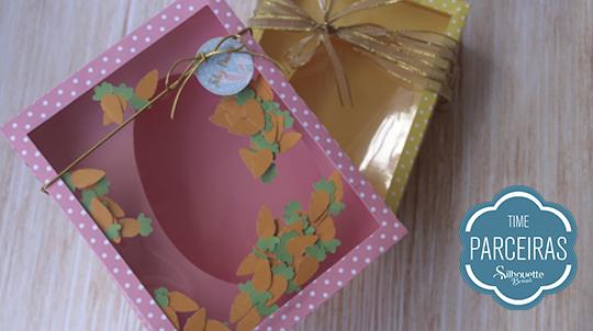 Caixas para ovos de Páscoa de colher prontas