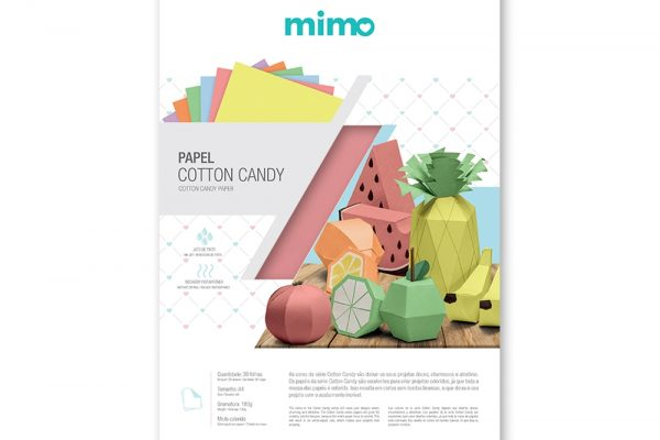 Papel Cotton Candy Mimo