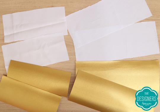 Tecidos necessários para fazer as necessaires de Dia das Mães
