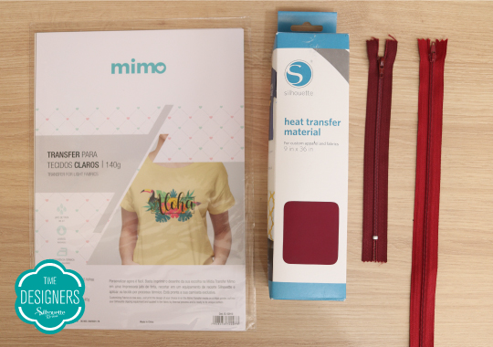 Materiais necessários para fazer o kit de necessaires