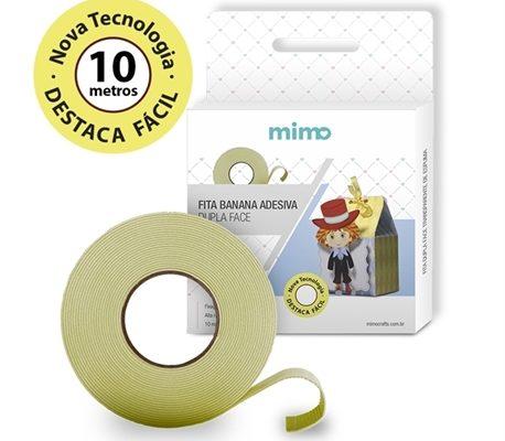 Fita Banana Dupla Face Mimo - 10 Metros