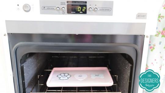 Leve peças ao forno