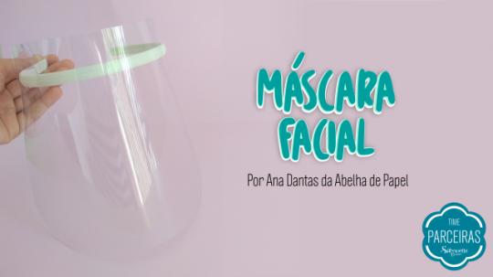 Aprenda como fazer máscara acetato molde grátis silhouette