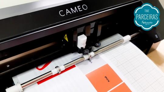 Envie peças impressas cortar Silhouette