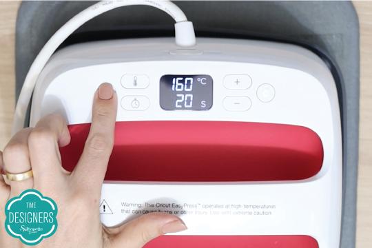 Faça transferência prensa térmica easy press