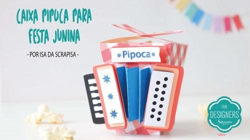 Caixa Pipoca Para Festa Junina