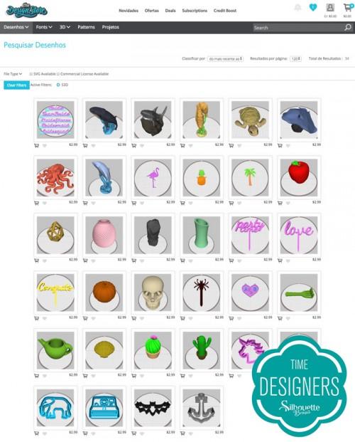 Moldes Silhouette Alta Vendidos na Design Store