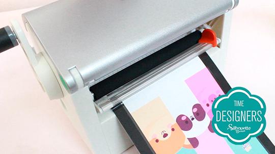 Passe marcadores máquina creative station para colocar imã laminar