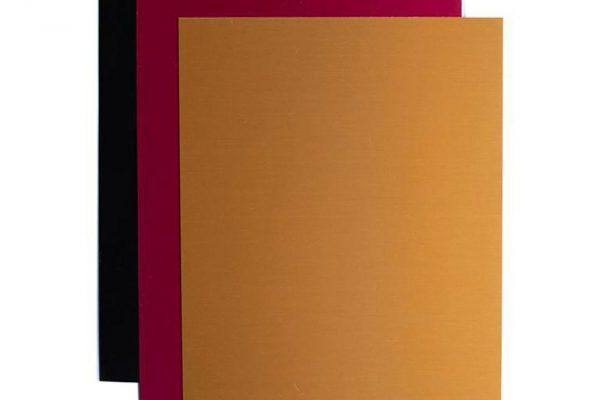 Folhas de Metal para Gravação Silhouette - 12,7 x 17,78 cm