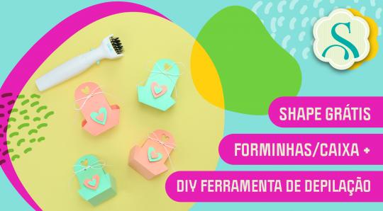 Forminhas Doces - DIY Ferramenta Depilação Automática We R