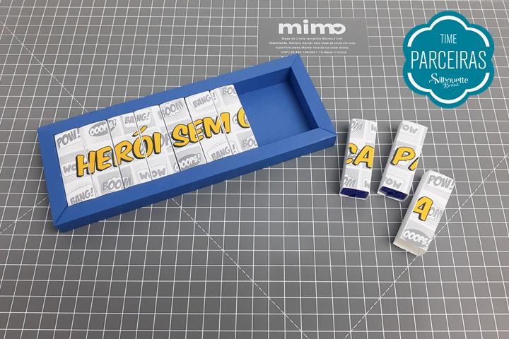 Molde Caixa Dia dos Pais – DIY Personalizado para Chocolate Bis