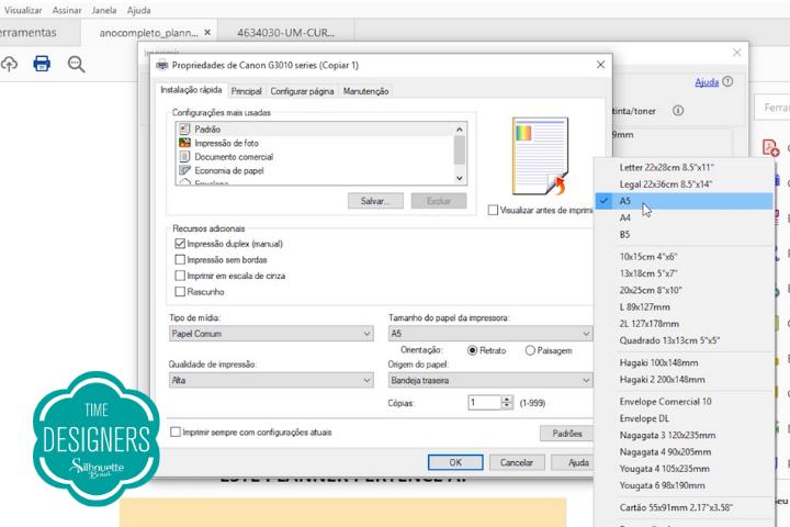 Como Fazer um Planner - DIY com Molde e PDF Grátis