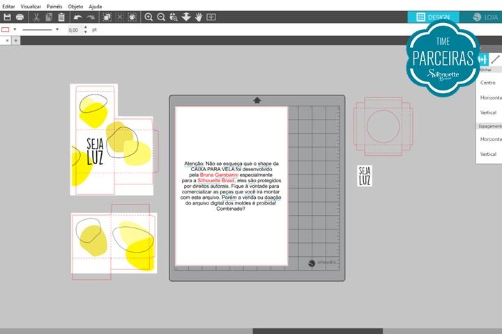 Configuração Silhouette Studio