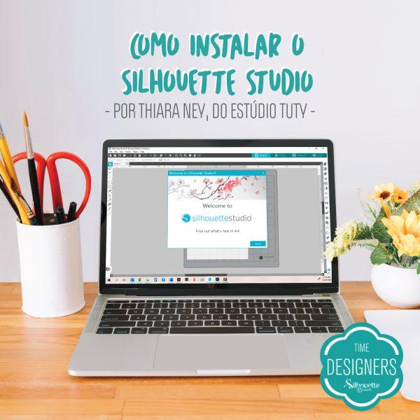 Como Instalar o Silhouette Studio