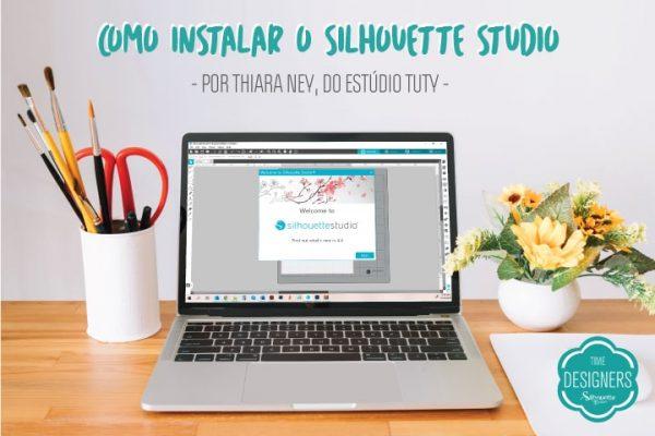 Como Instalar o Silhouette Studio e Registrar Sua Máquina