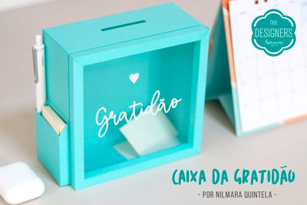 Caixa Cofre da Gratidão – DIY com Shape Grátis