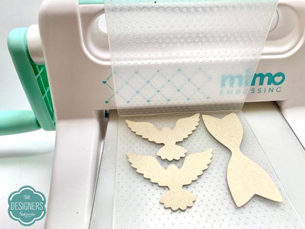 DIY: Como Fazer Texturas em Papel ? - Mimo Embossing