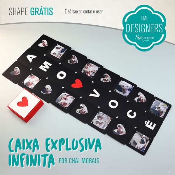 DIY - Caixa Explosiva Infinita - Valentine's Day