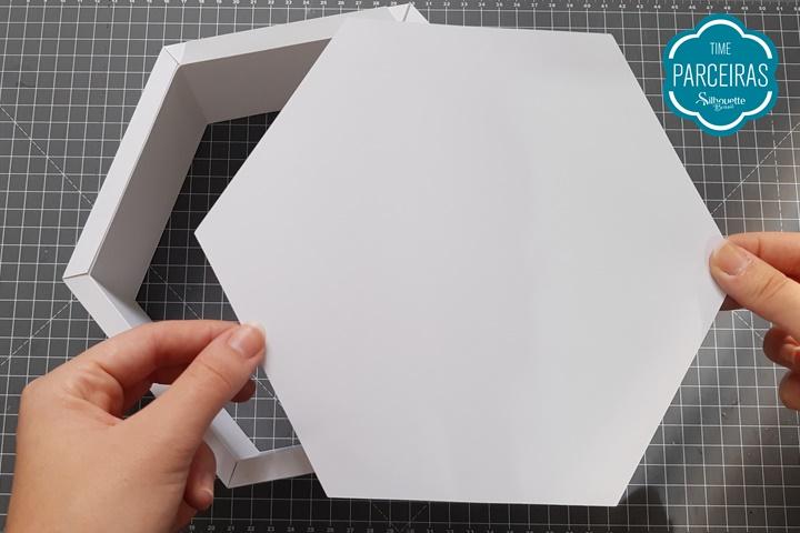 Como Fazer Nicho para Decoração - Silhouette
