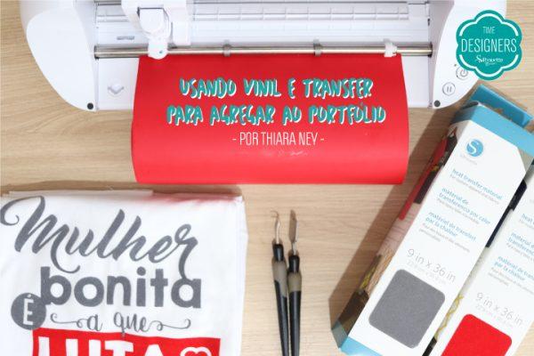 Como Fazer Personalizados com Vinil e Transfer