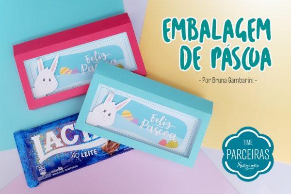 Embalagem para Barra de Chocolate – Arquivo GRÁTIS de Páscoa
