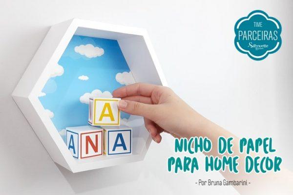 Como Fazer Nicho de Papel – DIY + Arquivo Grátis