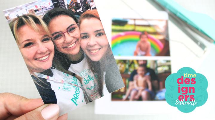 Foto das DTs Carla, Nilmara e Léia na Mega Artesanal. Veja mais neste post: