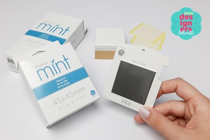 Máquina de Fazer Carimbos Silhouette Mint