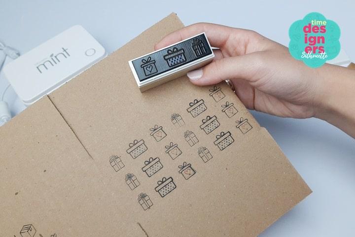 Como Fazer Carimbos Personalizados para Embalagens - Silhouette Mint