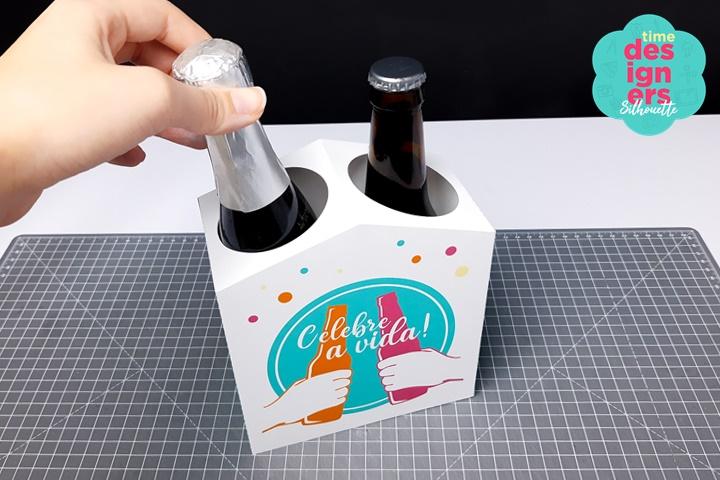 Como Fazer Caixa Para Bebidas - Arquivo GRÁTIS