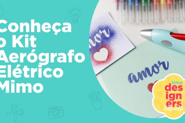 Kit de Aerógrafo Elétrico Mimo para Artesanato