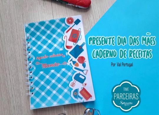 Caderno Personalizado Para o Dia das Mães